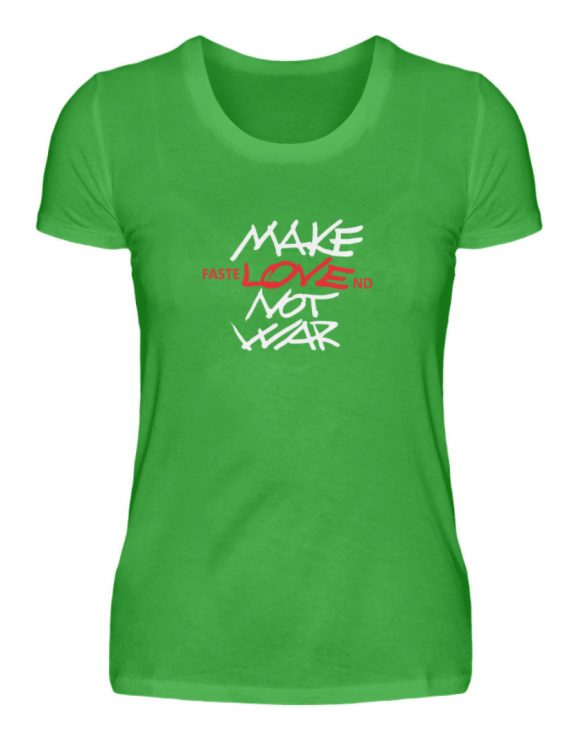 FasteLOVEnd Damen T-Shirt - Damenshirt-2468