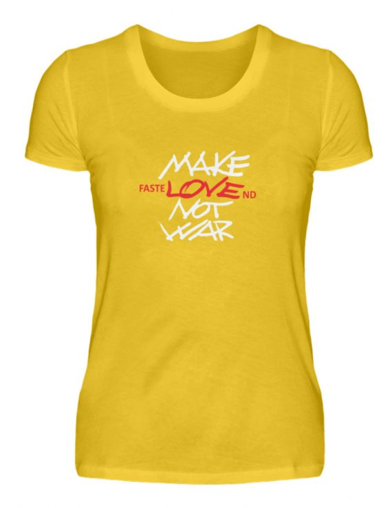 FasteLOVEnd Damen T-Shirt - Damenshirt-3201