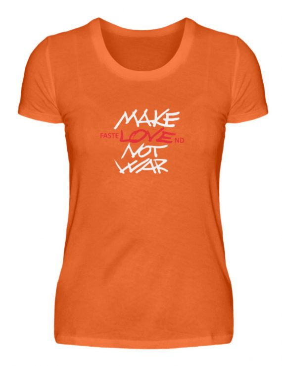 FasteLOVEnd Damen T-Shirt - Damenshirt-1692