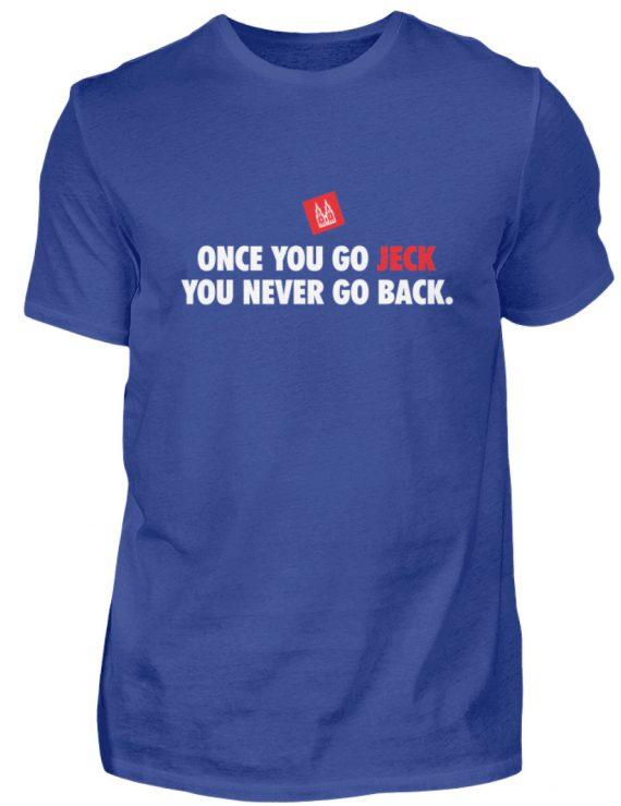 Once you go jeck - T-Shirt Herren - Herren Shirt-668