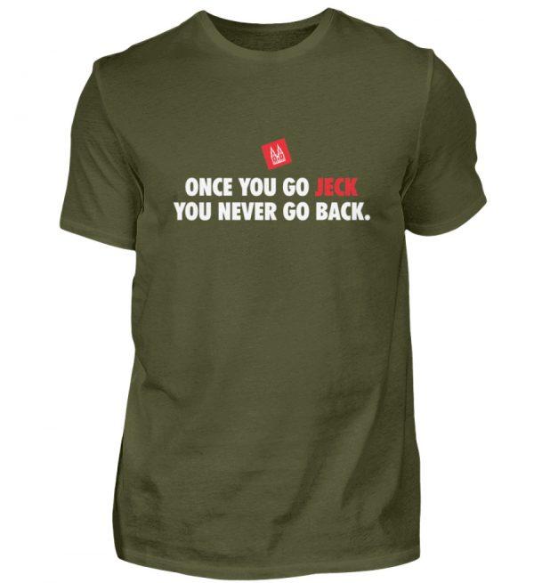 Once you go jeck - T-Shirt Herren - Herren Shirt-1109