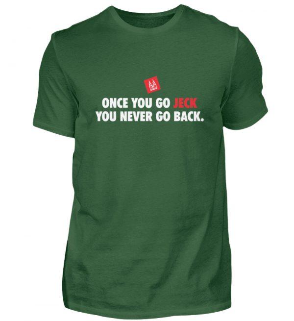 Once you go jeck - T-Shirt Herren - Herren Shirt-833