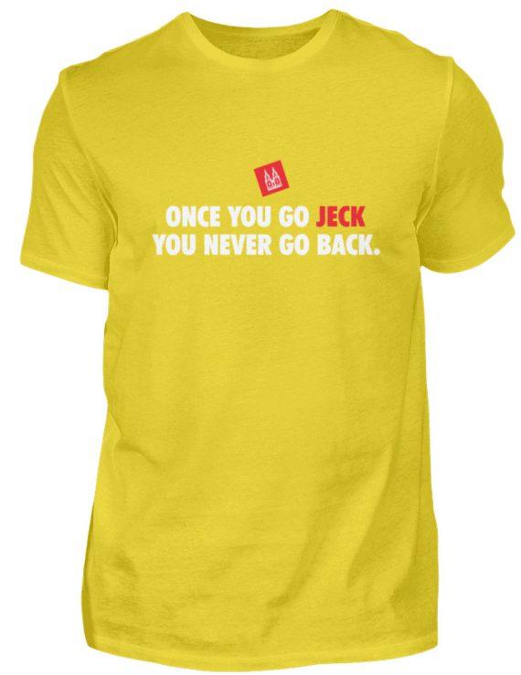 Once you go jeck - T-Shirt Herren - Herren Shirt-1102