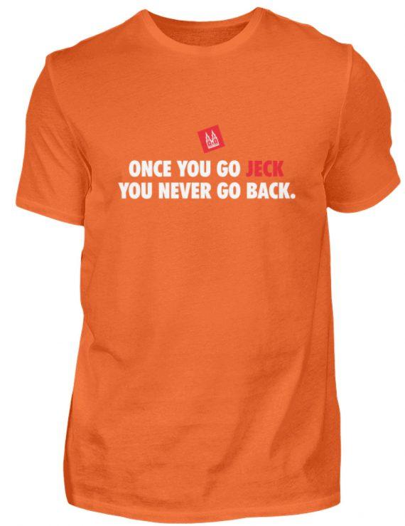 Once you go jeck - T-Shirt Herren - Herren Shirt-1692