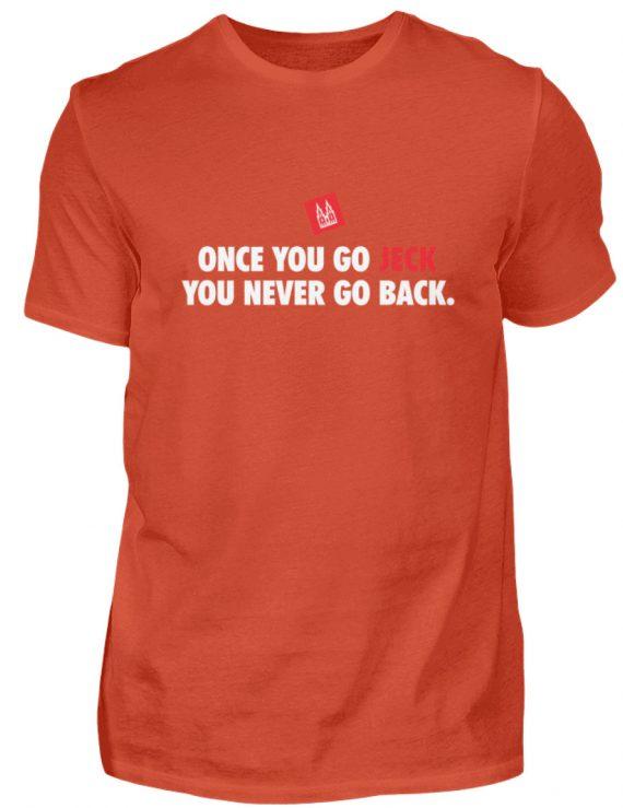 Once you go jeck - T-Shirt Herren - Herren Shirt-1236
