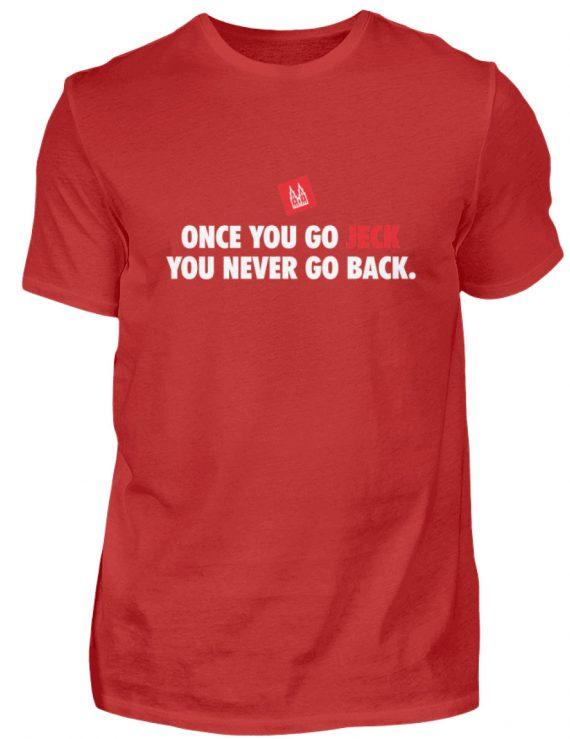 Once you go jeck - T-Shirt Herren - Herren Shirt-4