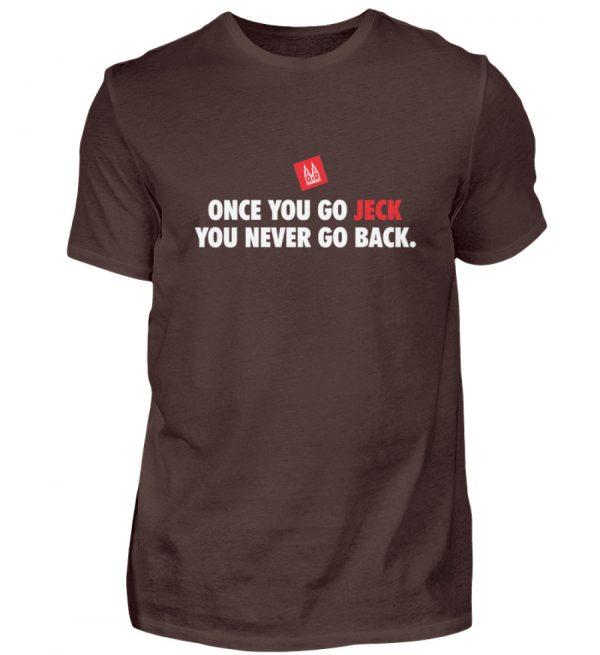 Once you go jeck - T-Shirt Herren - Herren Shirt-1074