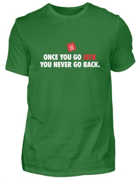 Once you go jeck - T-Shirt Herren - Herren Shirt-718