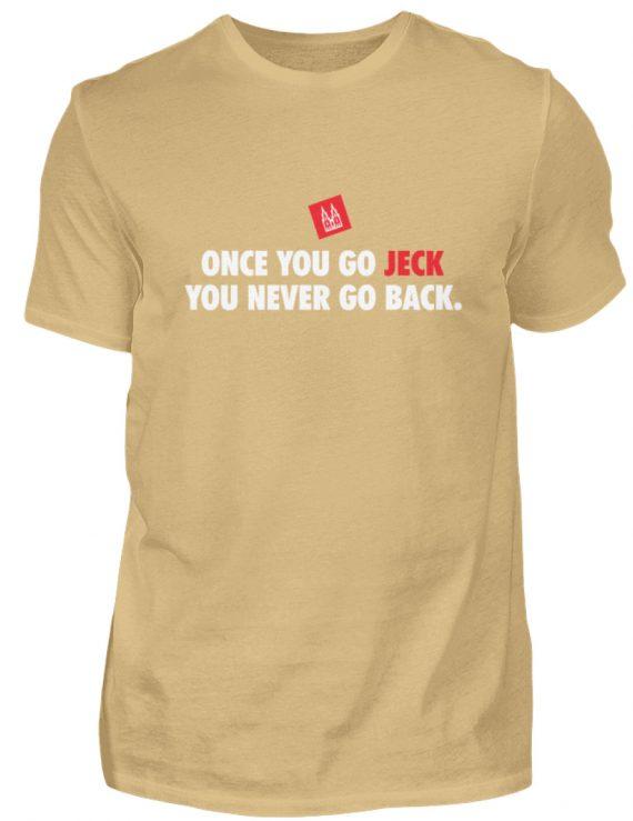 Once you go jeck - T-Shirt Herren - Herren Shirt-224