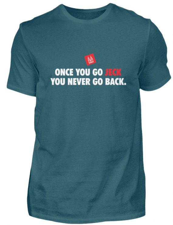 Once you go jeck - T-Shirt Herren - Herren Shirt-1096