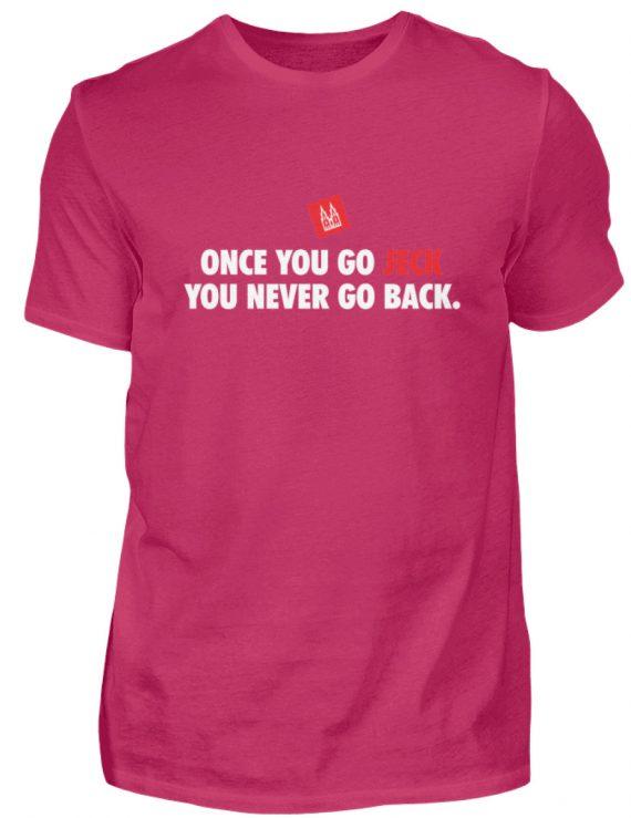 Once you go jeck - T-Shirt Herren - Herren Shirt-1216