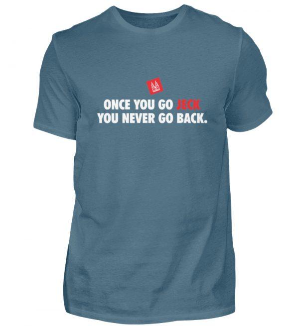 Once you go jeck - T-Shirt Herren - Herren Shirt-1230