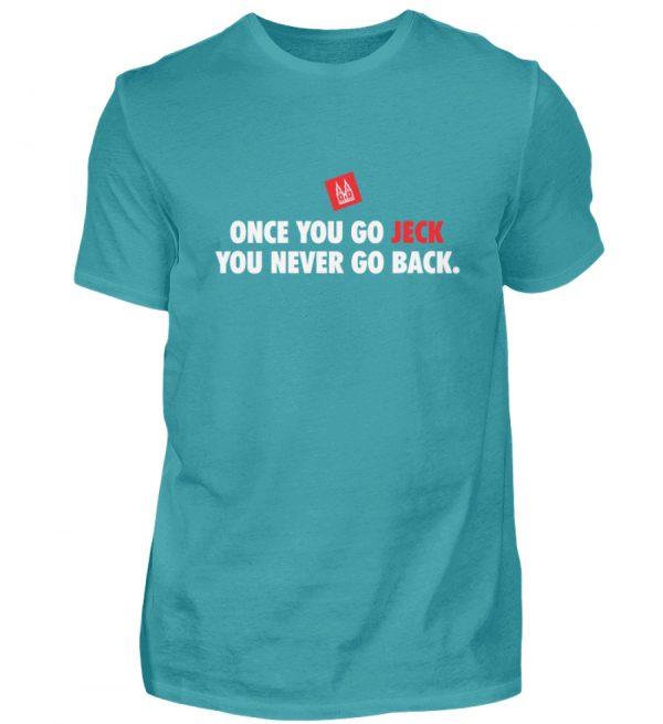 Once you go jeck - T-Shirt Herren - Herren Shirt-1242