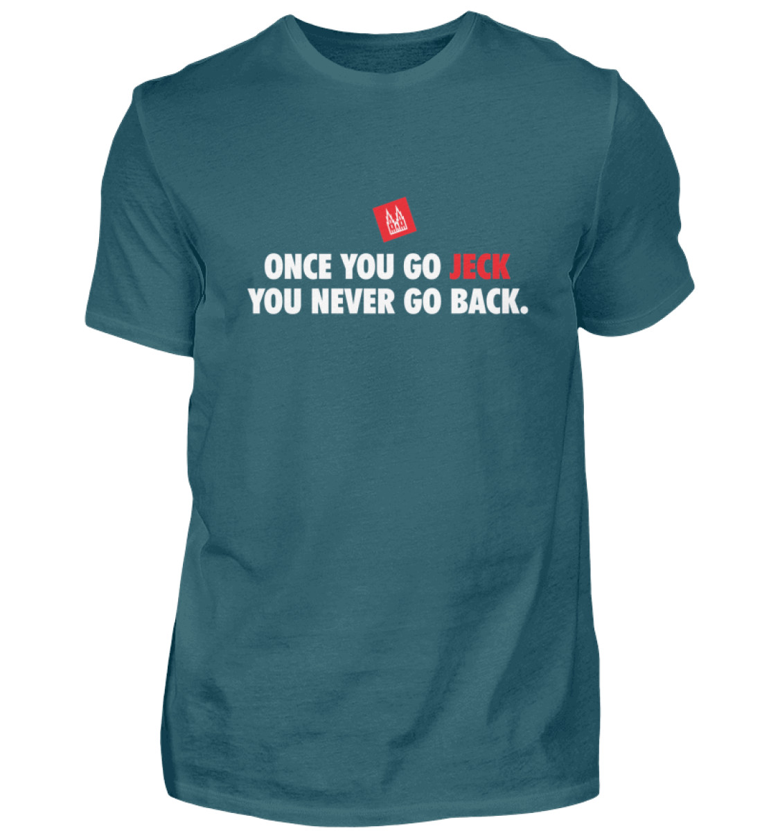 Once you go jeck - T-Shirt Herren - Herren Shirt-1096