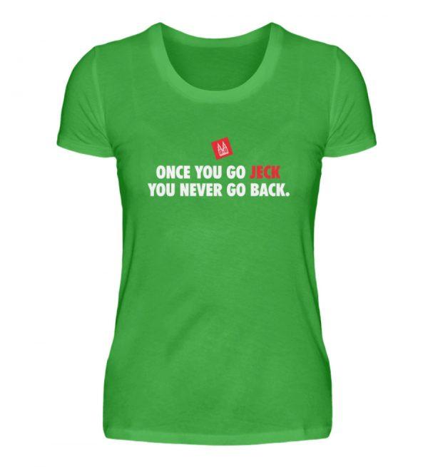 Once you go jeck - T-Shirt Damen - Damenshirt-2468