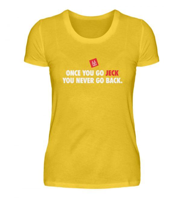 Once you go jeck - T-Shirt Damen - Damenshirt-3201