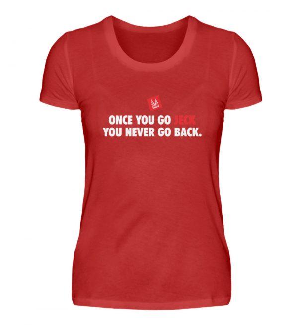 Once you go jeck - T-Shirt Damen - Damenshirt-4