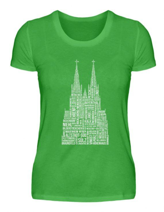 86 Veedel weiß T-Shirt - Damen - Damenshirt-2468