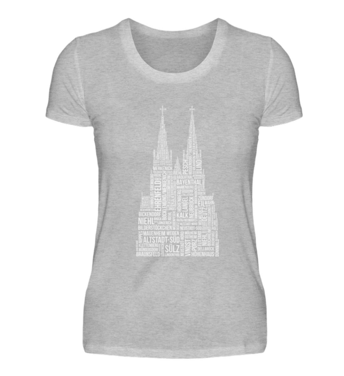 86 Veedel weiß T-Shirt - Damen - Damenshirt-17