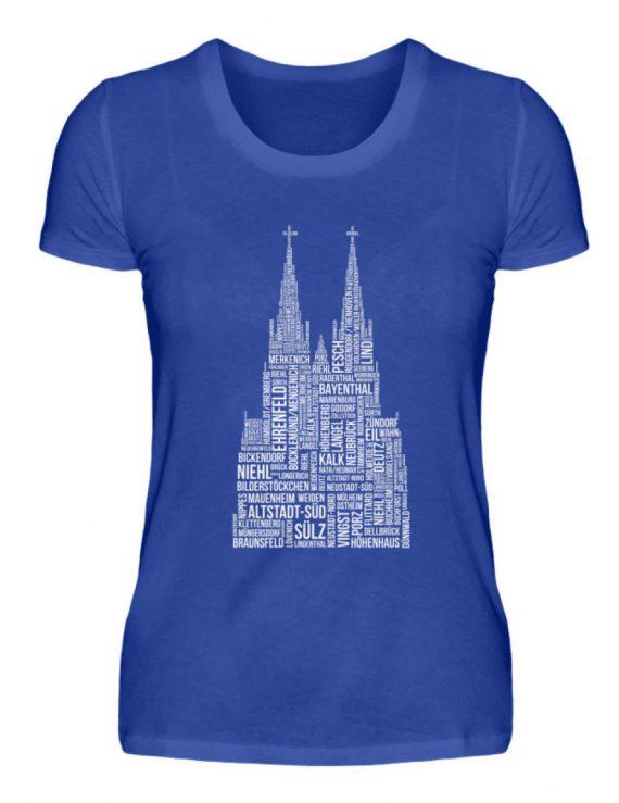 86 Veedel weiß T-Shirt - Damen - Damenshirt-2496