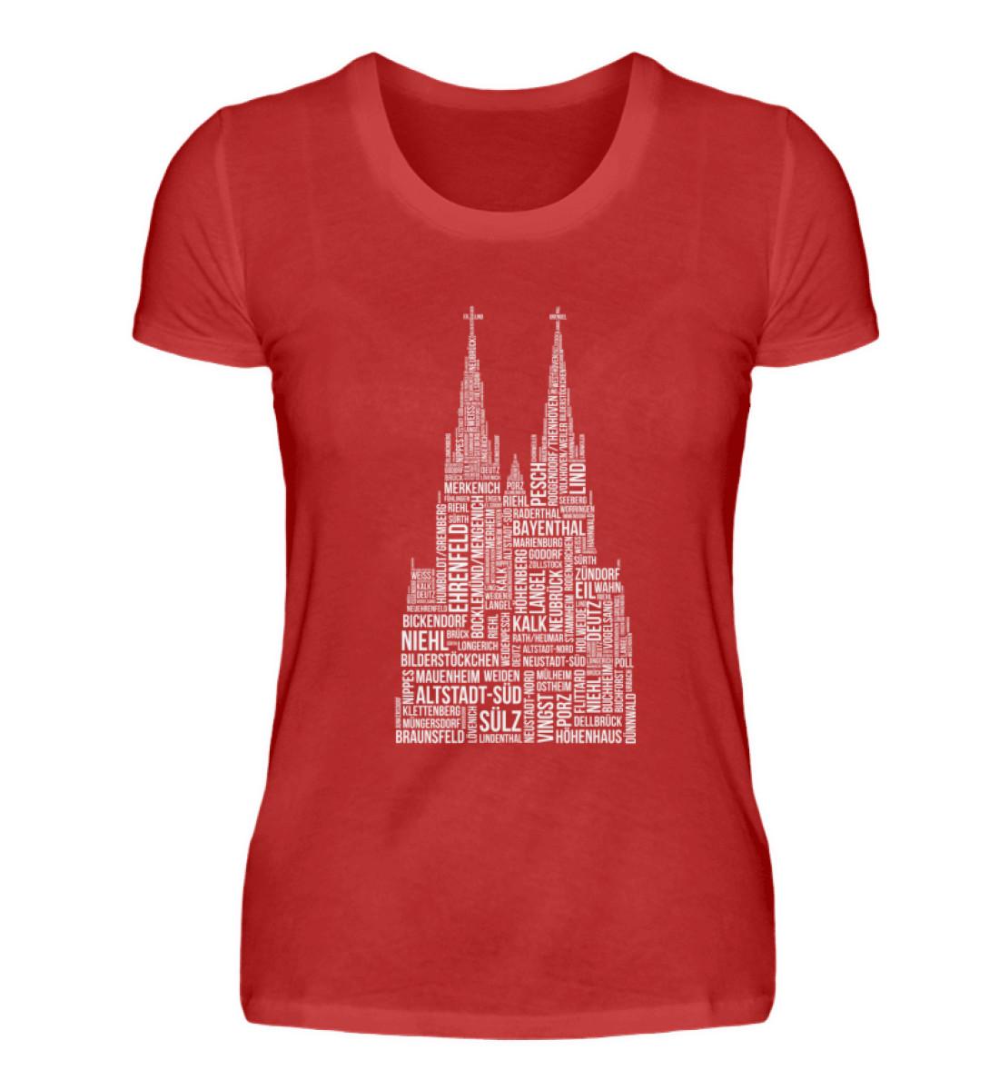 86 Veedel weiß T-Shirt - Damen - Damenshirt-4