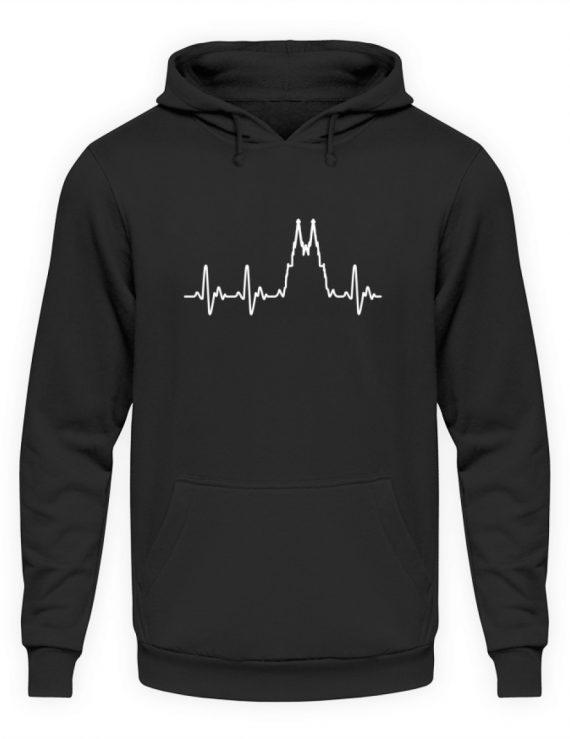 Herz für Köln T-Shirt - Hoodie - Unisex Kapuzenpullover Hoodie-1624