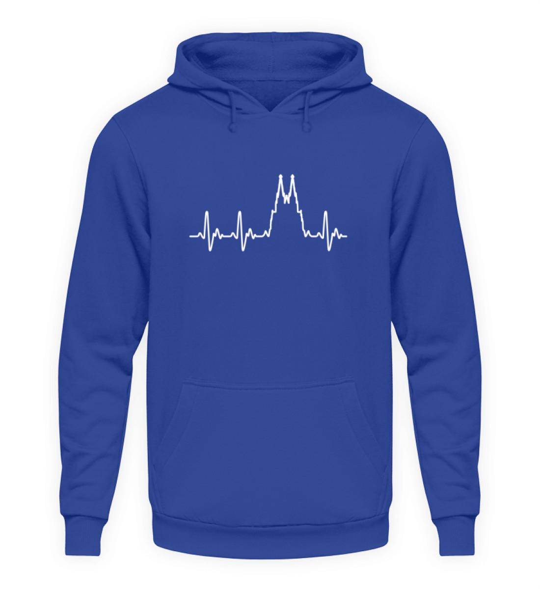 Herz für Köln T-Shirt - Hoodie - Unisex Kapuzenpullover Hoodie-668