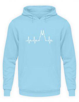 Herz für Köln T-Shirt - Hoodie - Unisex Kapuzenpullover Hoodie-674