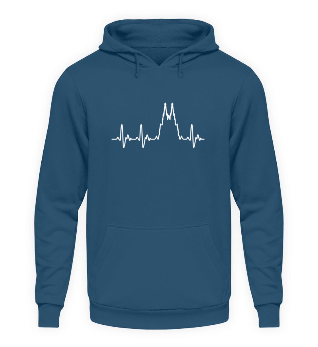 Herz für Köln T-Shirt - Hoodie - Unisex Kapuzenpullover Hoodie-1461