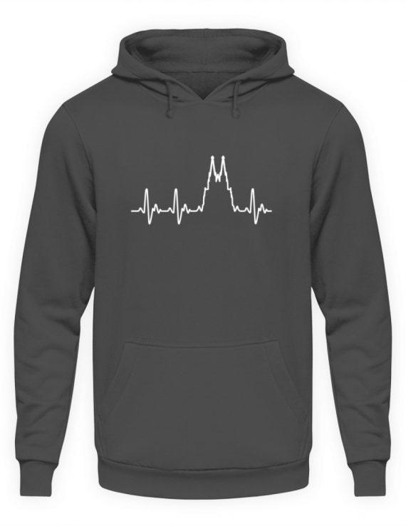 Herz für Köln T-Shirt - Hoodie - Unisex Kapuzenpullover Hoodie-1762