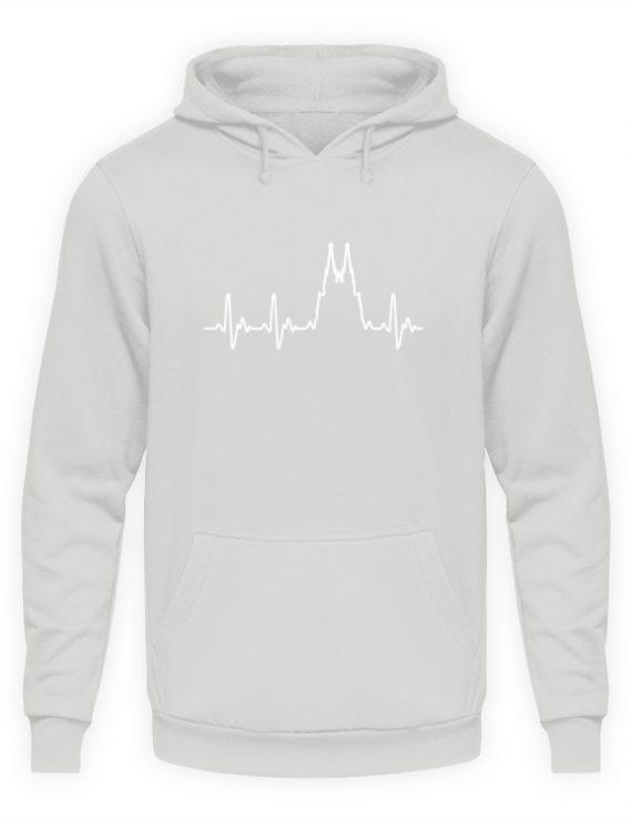 Herz für Köln T-Shirt - Hoodie - Unisex Kapuzenpullover Hoodie-23