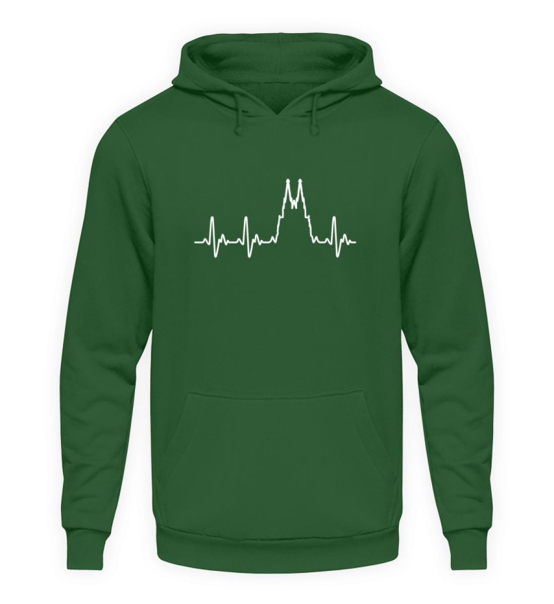 Herz für Köln T-Shirt - Hoodie - Unisex Kapuzenpullover Hoodie-833