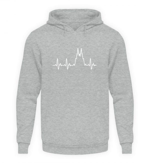 Herz für Köln T-Shirt - Hoodie - Unisex Kapuzenpullover Hoodie-6807