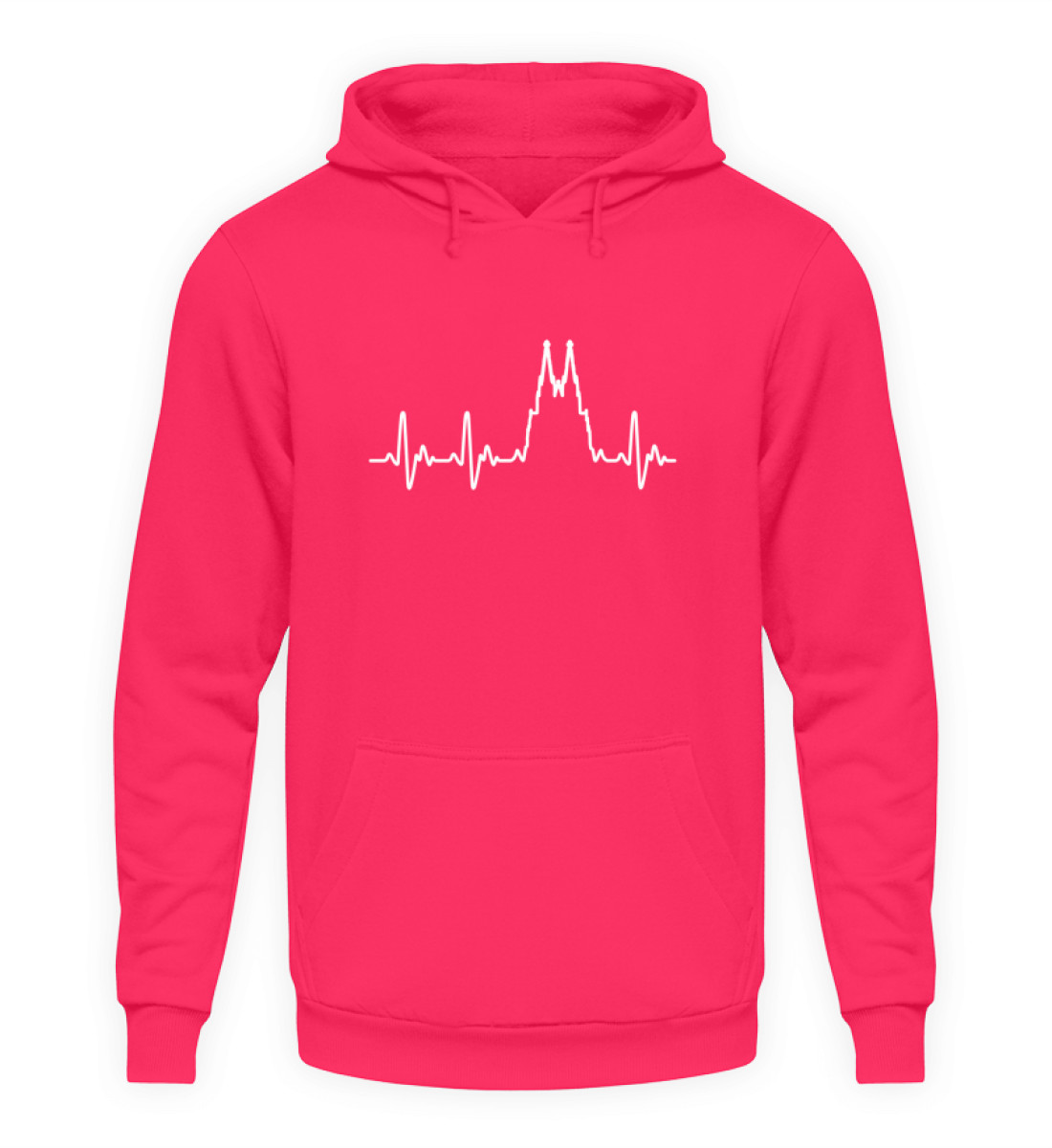 Herz für Köln T-Shirt - Hoodie - Unisex Kapuzenpullover Hoodie-1610