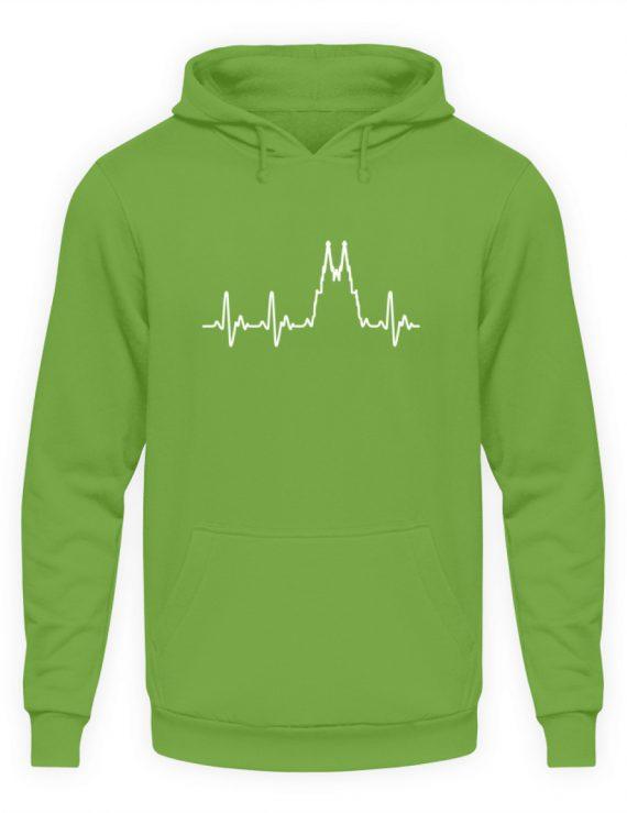 Herz für Köln T-Shirt - Hoodie - Unisex Kapuzenpullover Hoodie-1646