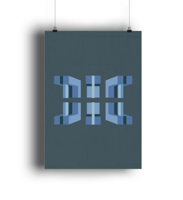 Kranhäuser - Poster A3 - DIN A3 Poster (hochformat)-3