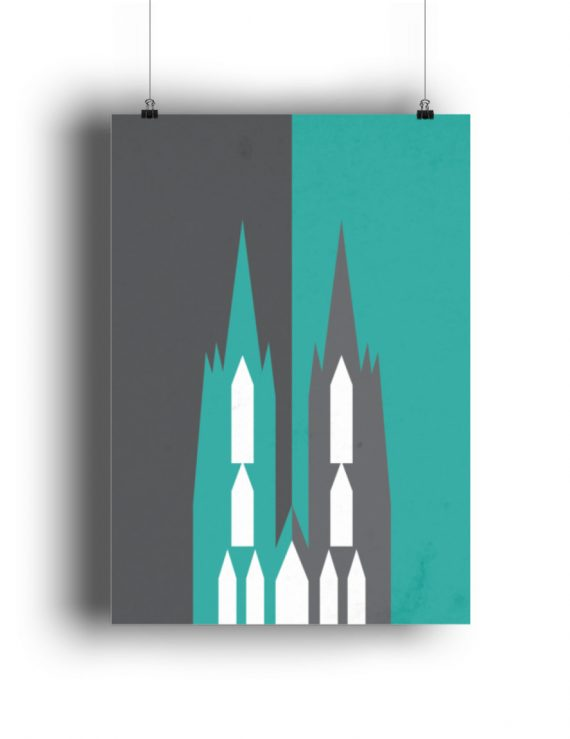 Dom vintage - Poster A3 - DIN A3 Poster (hochformat)-3