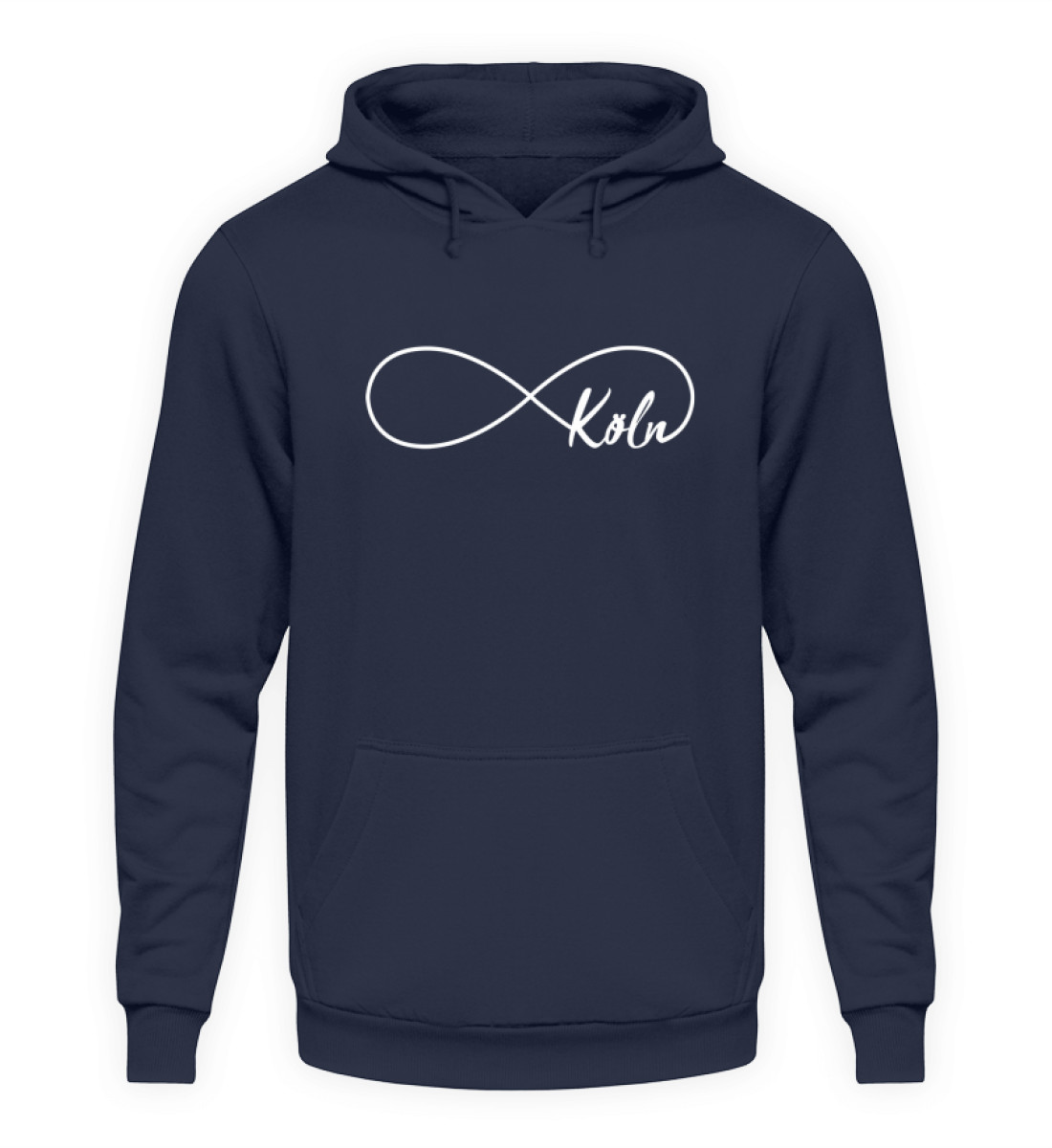 Für immer Köln T-Shirt - Hoodie - Unisex Kapuzenpullover Hoodie-1698