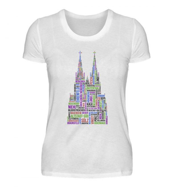 86 Veedel bunt T-Shirt - Damen - Damenshirt-3
