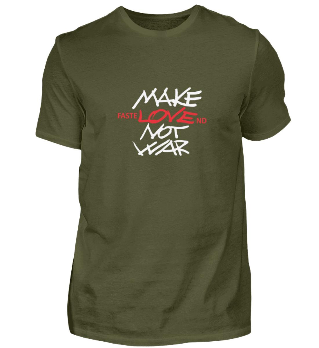 FasteLOVEnd Herren T-Shirt - Herren Shirt-1109