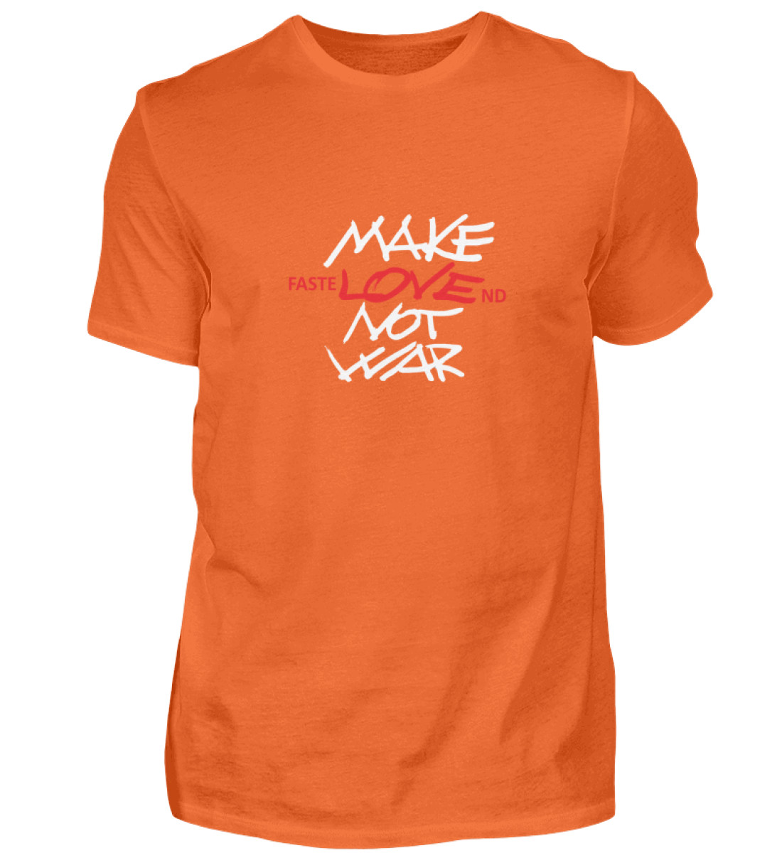 FasteLOVEnd Herren T-Shirt - Herren Shirt-1692
