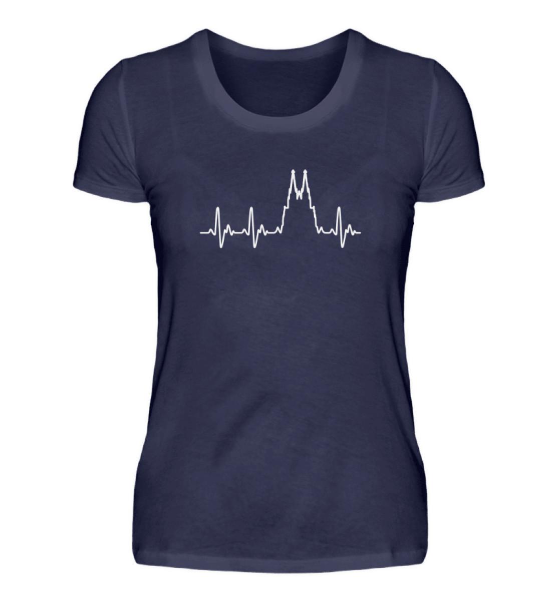 Herz für Köln T-Shirt - Damen - Damenshirt-198