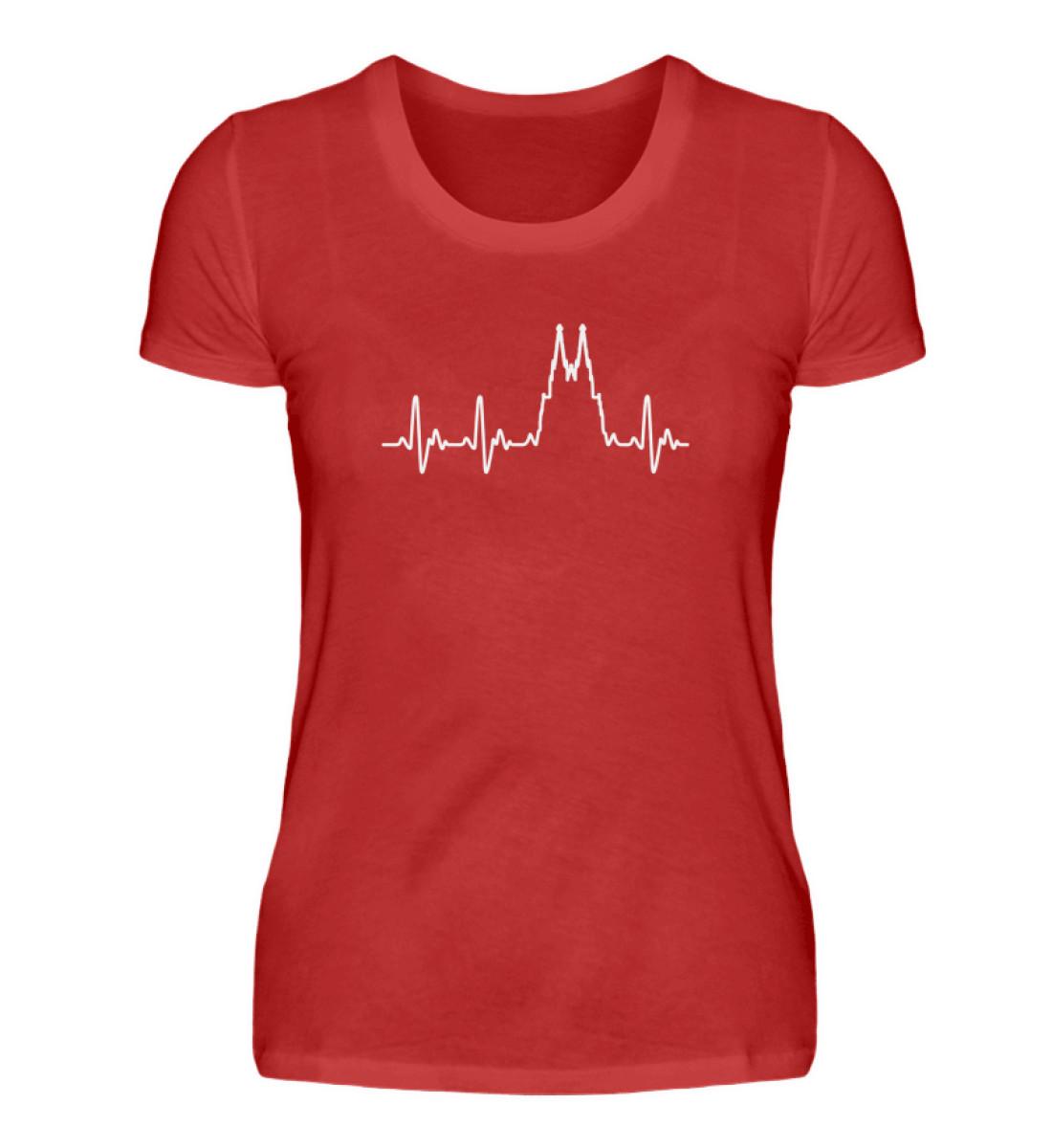 Herz für Köln T-Shirt - Damen - Damenshirt-4