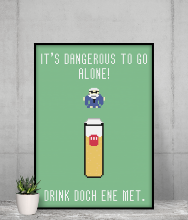 Drink doch ene met Poster