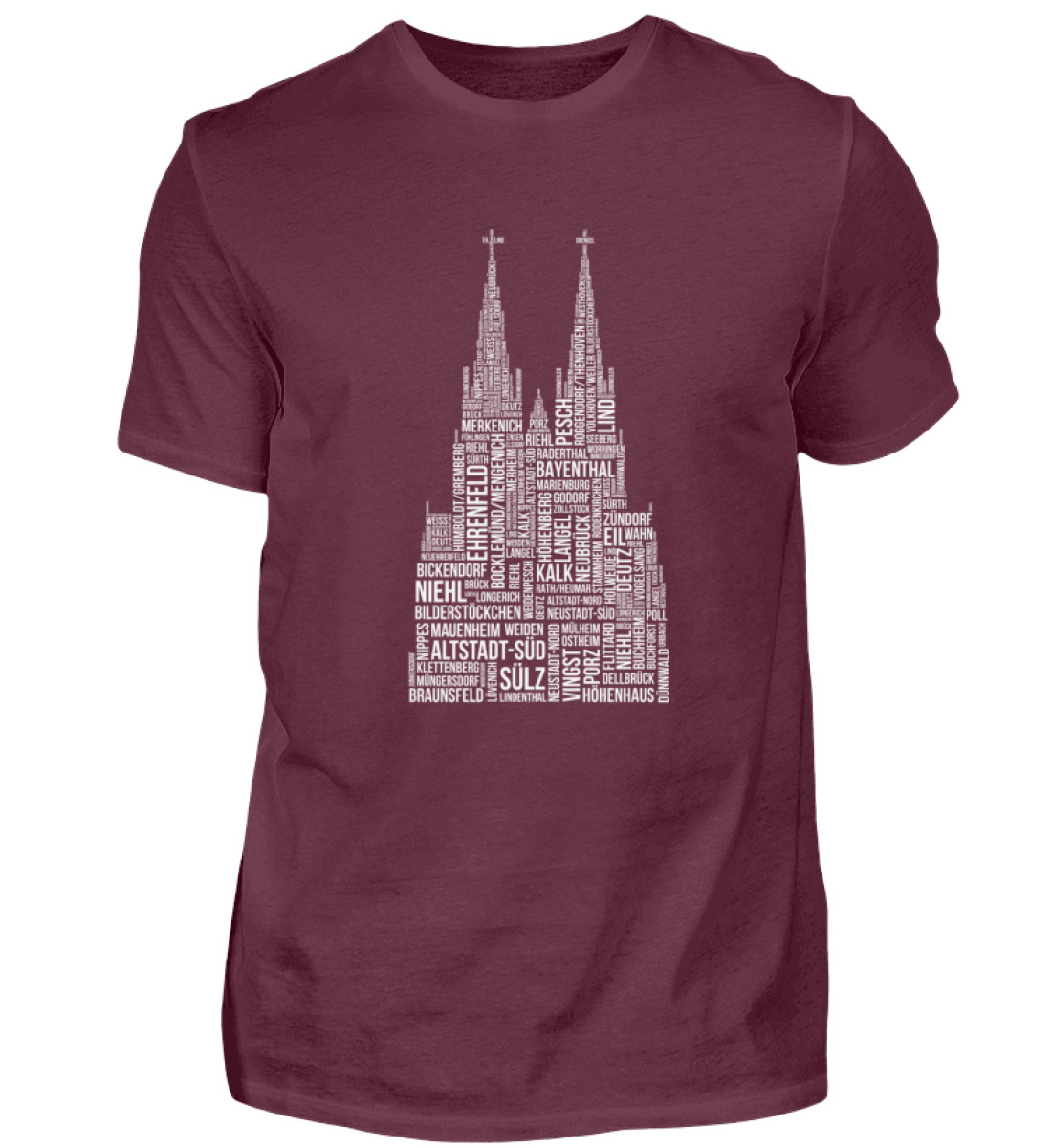 86 Veedel weiß T-Shirt - Herren - Herren Shirt-839