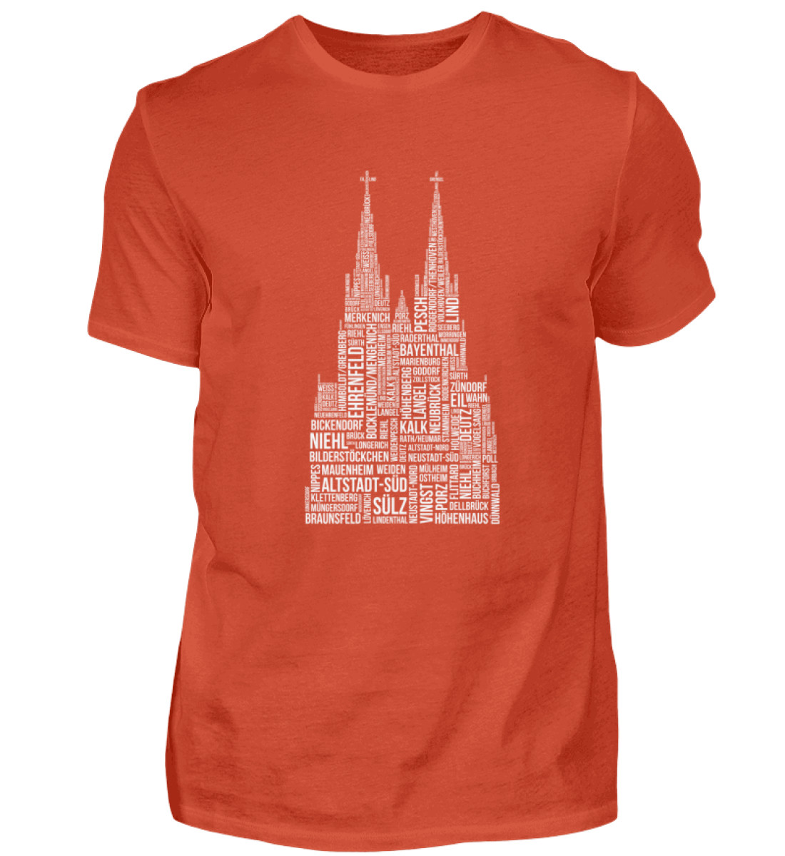 86 Veedel weiß T-Shirt - Herren - Herren Shirt-1236