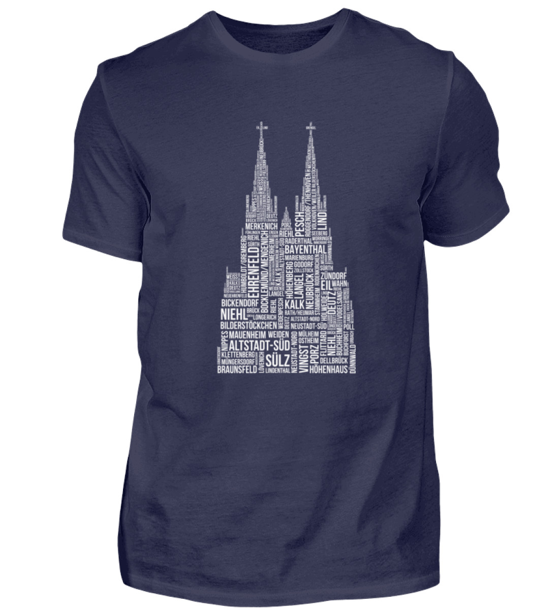 86 Veedel weiß T-Shirt - Herren - Herren Shirt-198