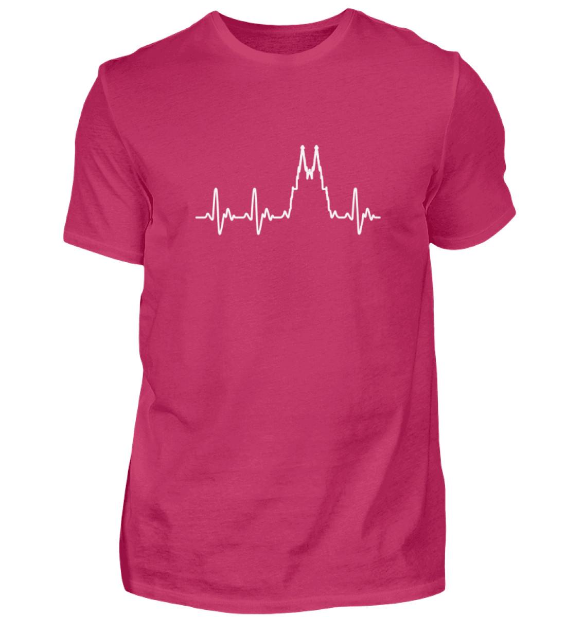 Herz für Köln T-Shirt - Herren - Herren Shirt-1216