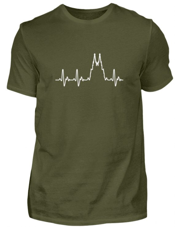 Herz für Köln T-Shirt - Herren - Herren Shirt-1109