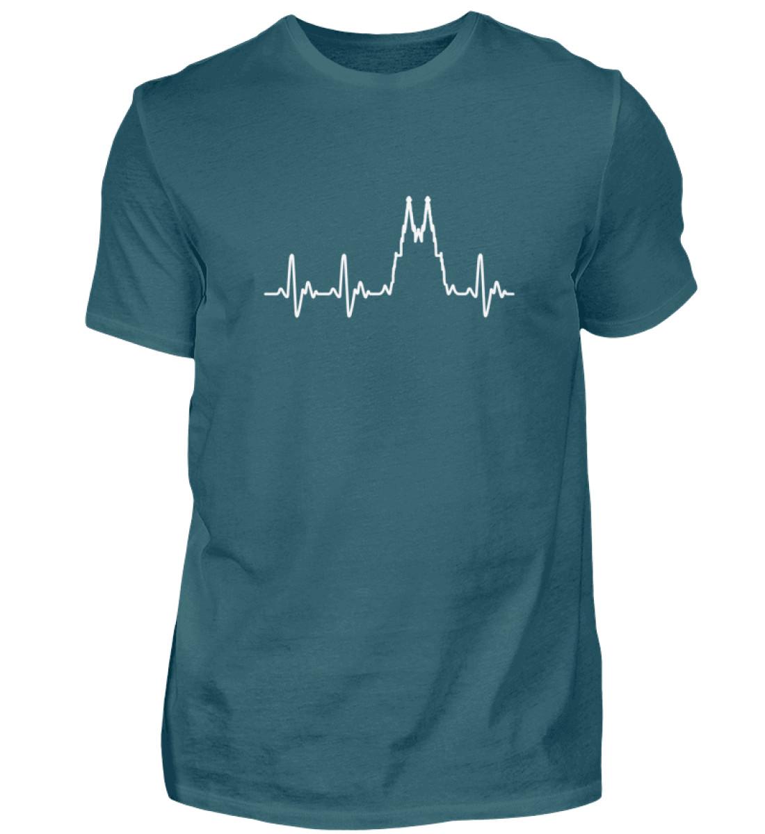 Herz für Köln T-Shirt - Herren - Herren Shirt-1096